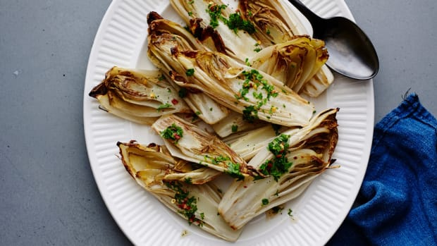 Roasted Endive with Fish Sauce Vinaigrette