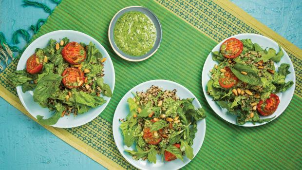 slow roasted tomato salad wide
