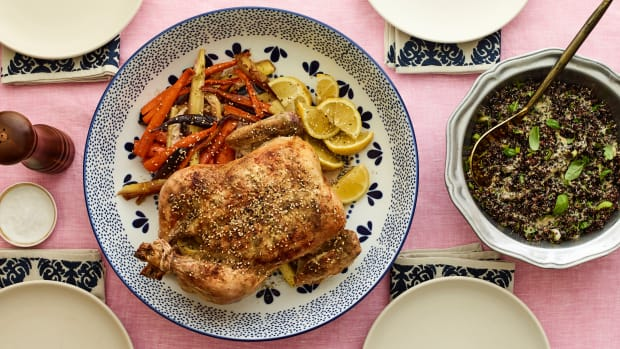 Zaatar Chicken Dinner