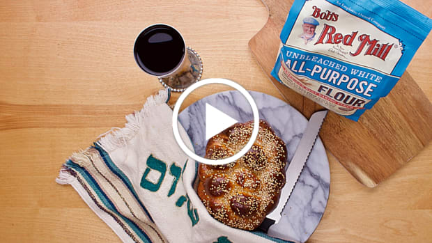 One hour challah video