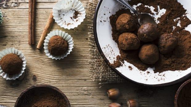 dairy free homemade chocolate truffles