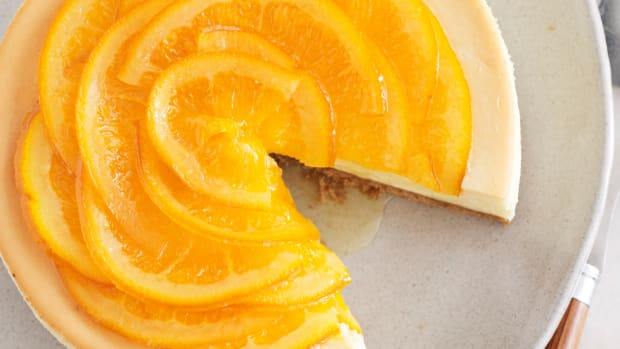 Candied Orange Cheesecake Wide