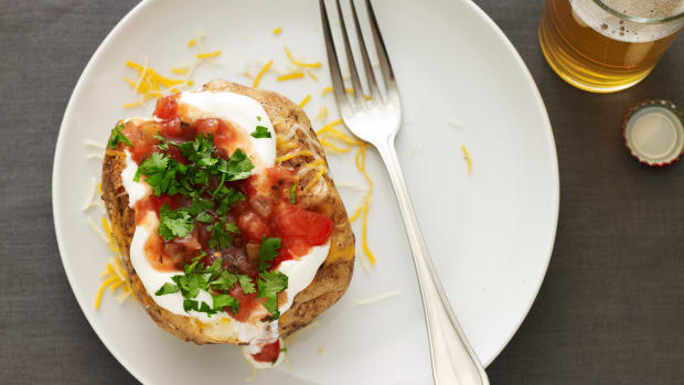 mexican baked potato