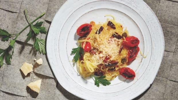 Spaghetti Squash Arrabiata