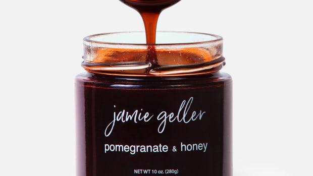 pomegranate and honey
