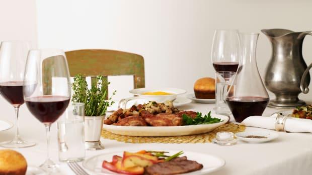 Rosh Hashanah table
