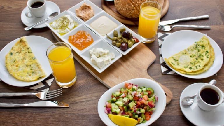 In Honor of Israel's Independence Day Let's Eat Breakfast