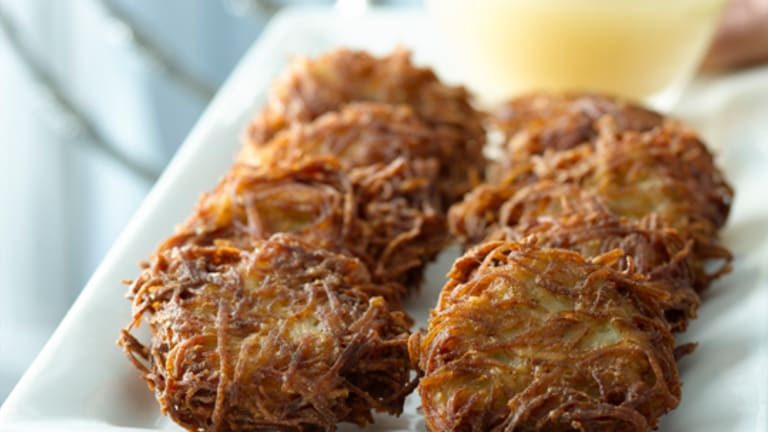 How to Fry Perfect Latkes for Hanukkah