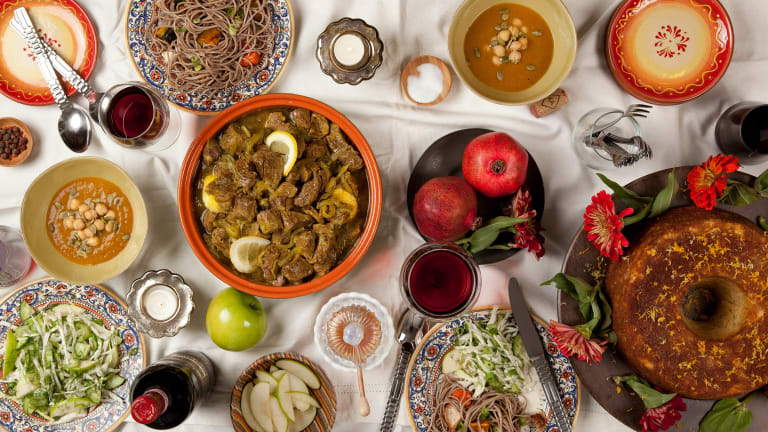A Rosh Hashanah Menu With A Moroccan Twist