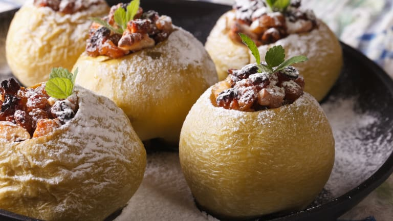 4 Unique Recipes For Baked Apples