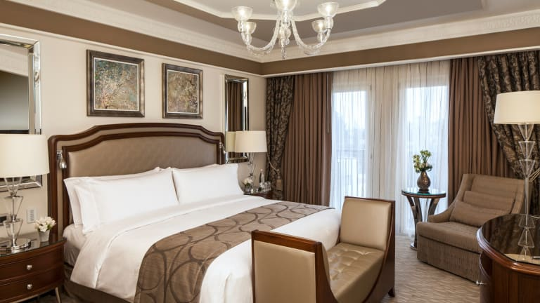 An Exclusive Peek Into The Luxurious Rooms of the Waldorf Astoria Jerusalem