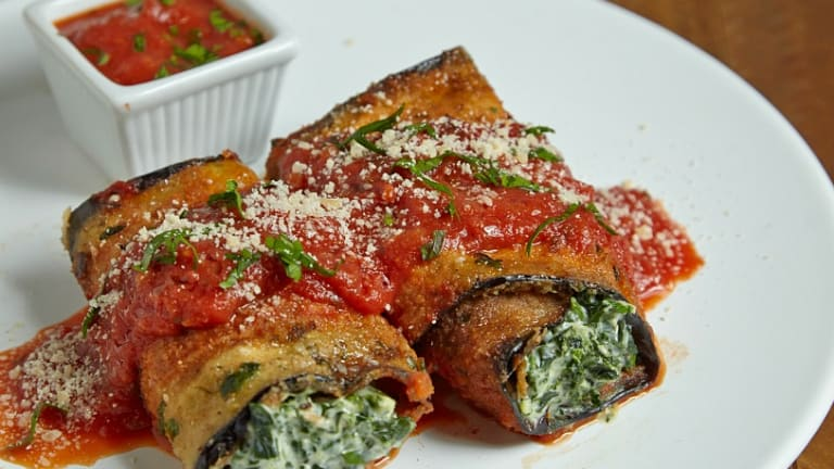 Eggplant Roll Ups Recipe Video