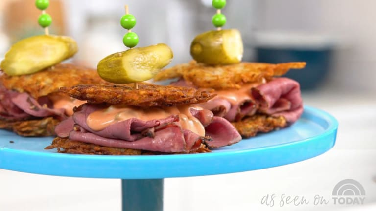 As Seen on The Today Show: Jamie's Ultimate Latke Roundup...Make the Best Latke Ever this Hanukkah