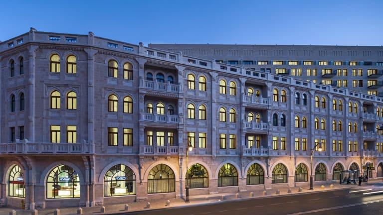 Stepping into History At The Waldorf Astoria Jerusalem