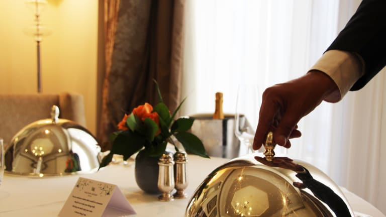 The Best Room Service Experience In Israel - Waldorf In Room Dining