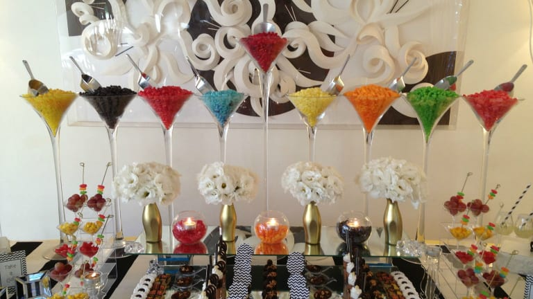 How to Create a Hanukkah Dessert Table