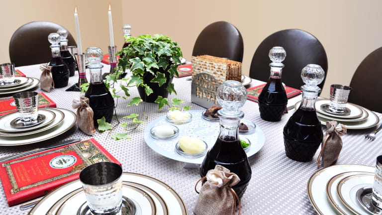 How To Decorate Your Passover Seder Table