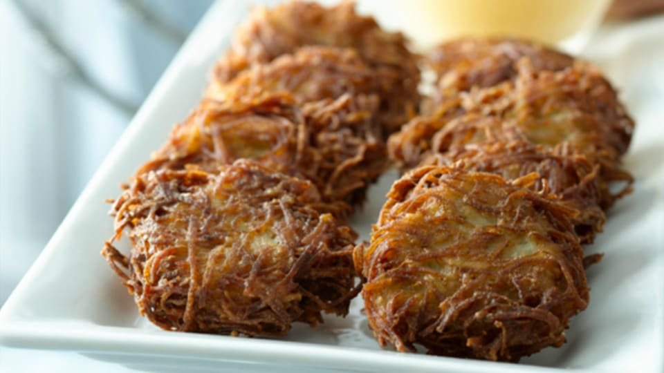 My Grandfather's Latke Recipe
