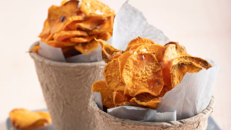 Goodbye Mr. Potato Chips, Hello Veggie Chips