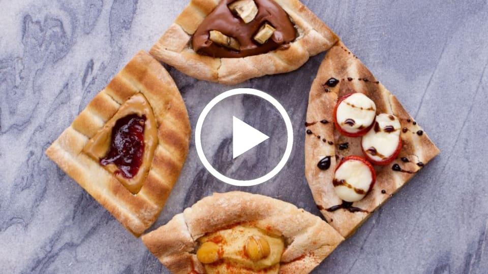 Purim Pita Hamantaschen 4 Ways
