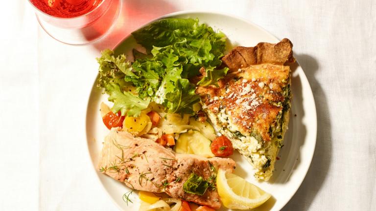 Summer Shabbat Third Meal Menu