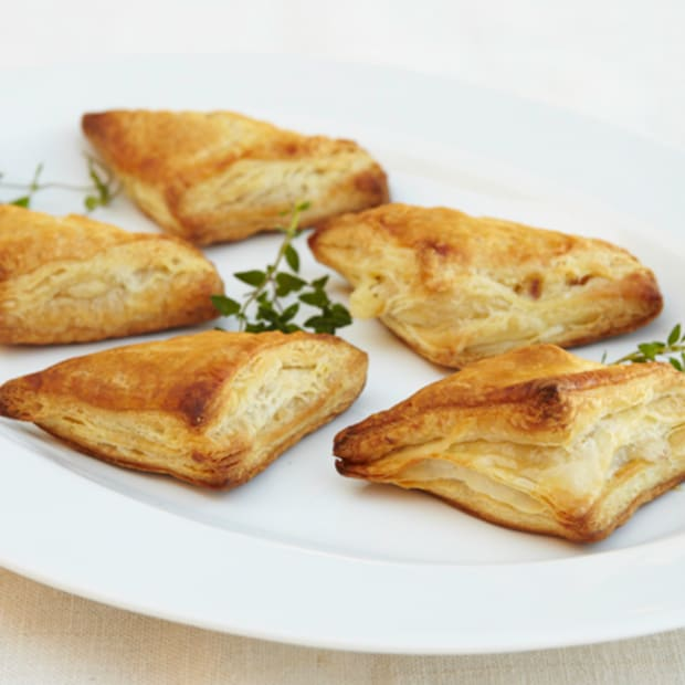 Potato and Goat Cheese Triangles