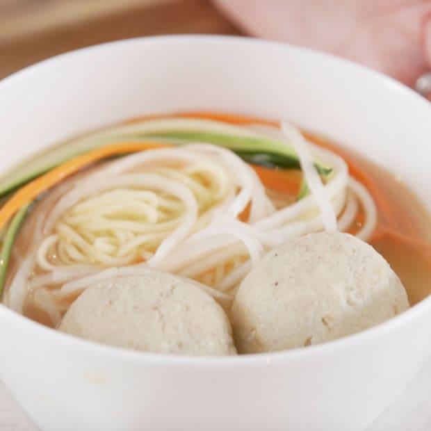 Best Ever Matzo Ball Soup