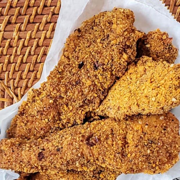 Cajun Chicken Schnitzel