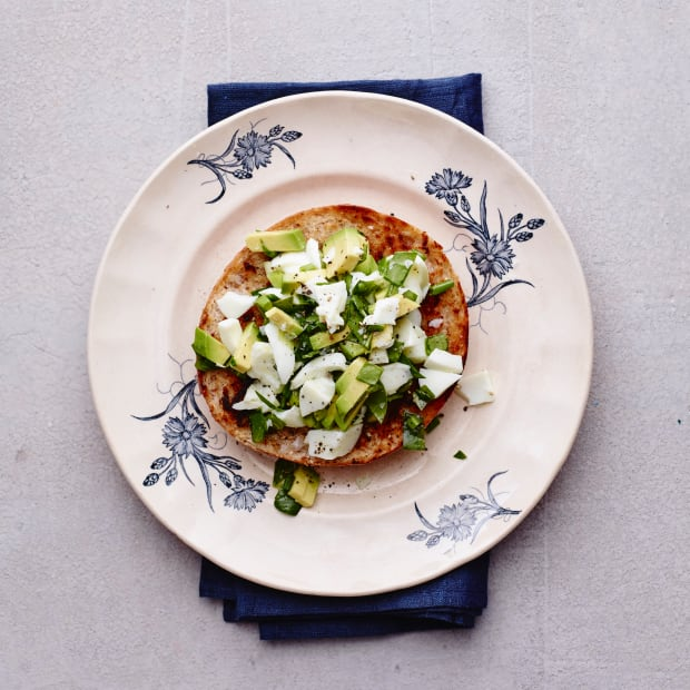 egg white and spinach salad