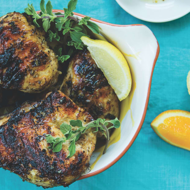 Grilled Cuban Mojo Chicken