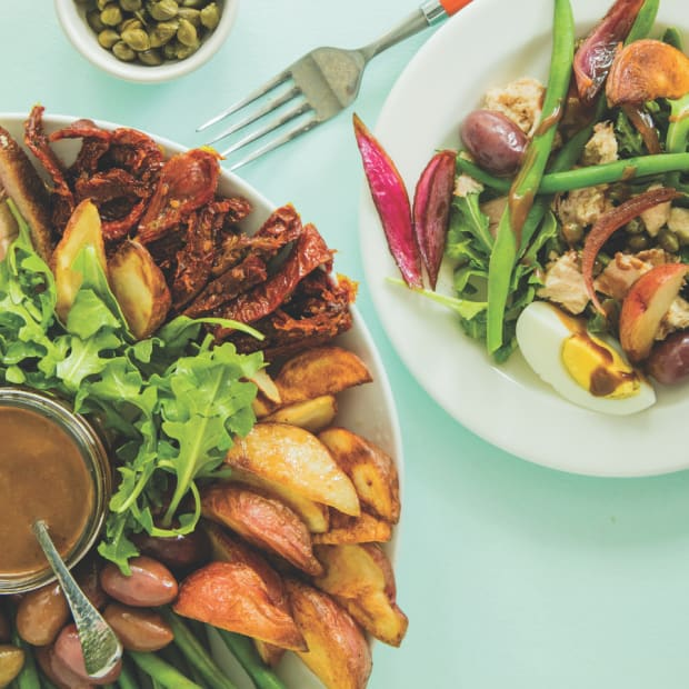 Nicoise Salad Wide