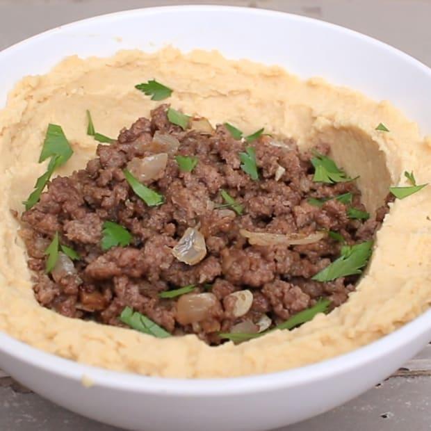 Meat Hummus