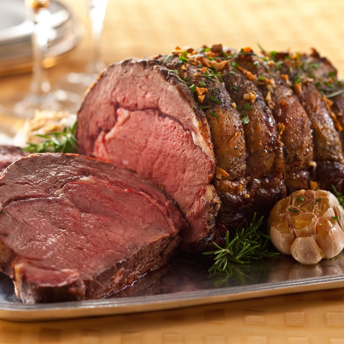 Shoulder Roast With Garlic And Herbs Jamie Geller