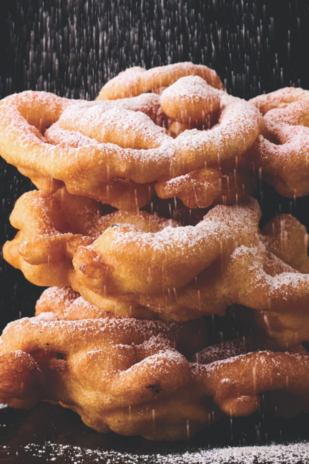 funnel cakes wide
