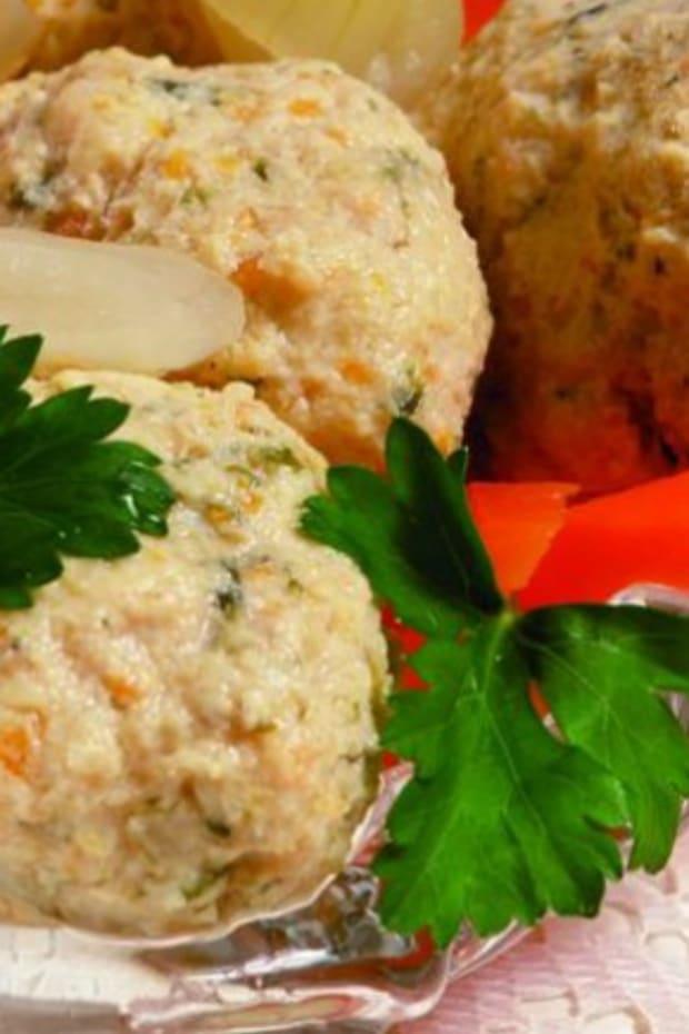 salmon gefilte fish in book,