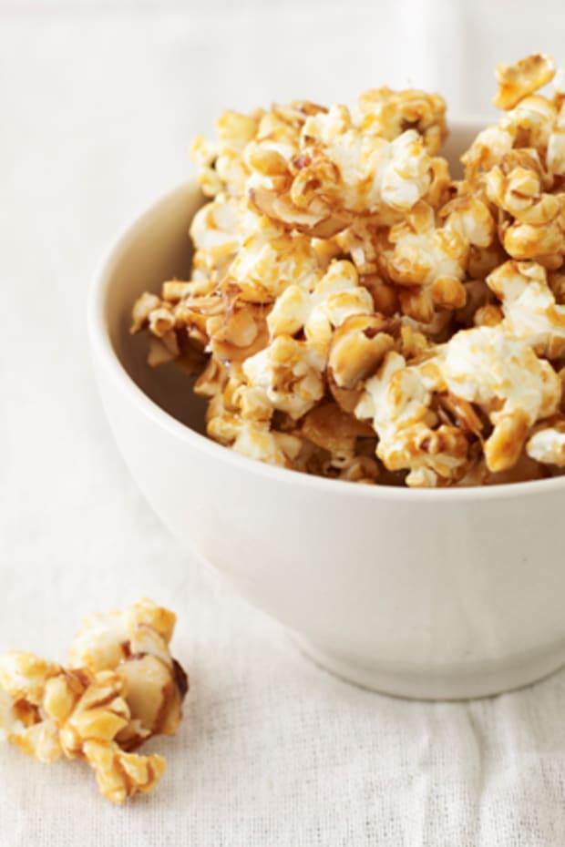 Maple Almond Popcorn