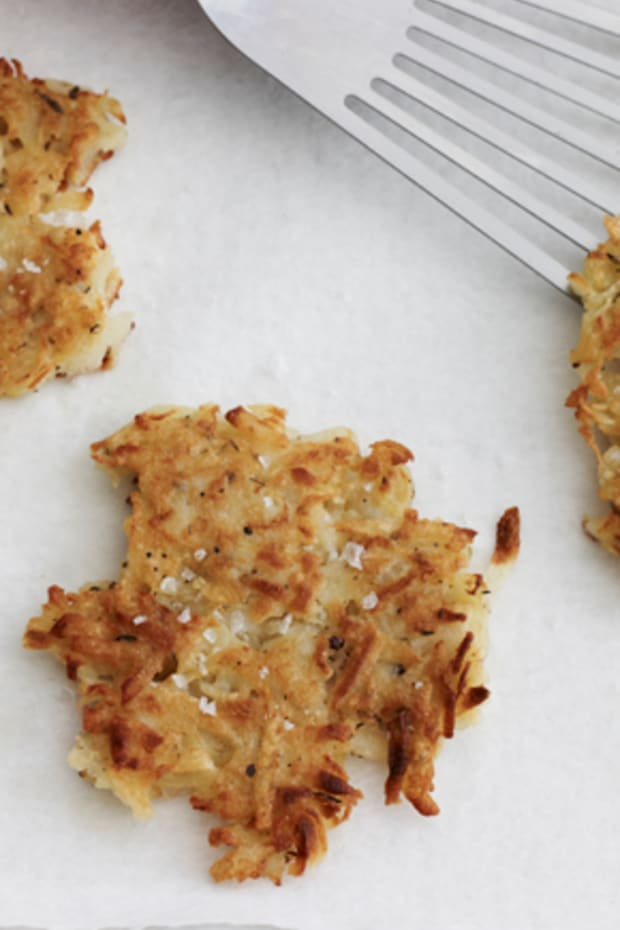 Potato and Parsnip Latkes