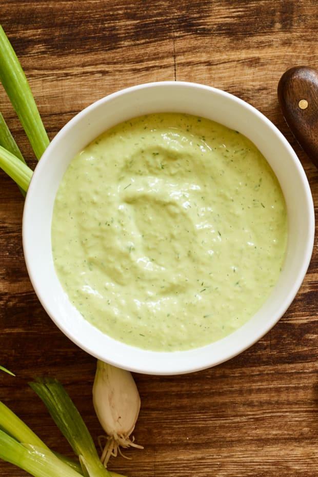 green goddess blender sauce