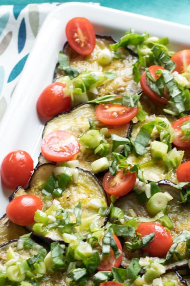 marinated eggplant salad