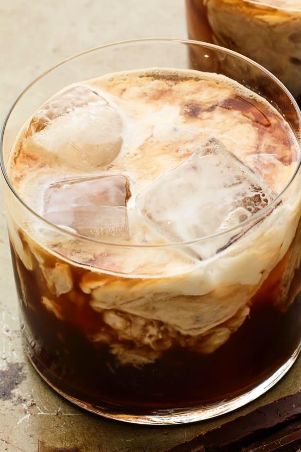 coffee bourbon cocktail horizontal