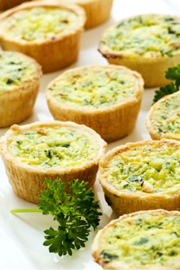 Gluten Free Mini Vegetarian Quiche
