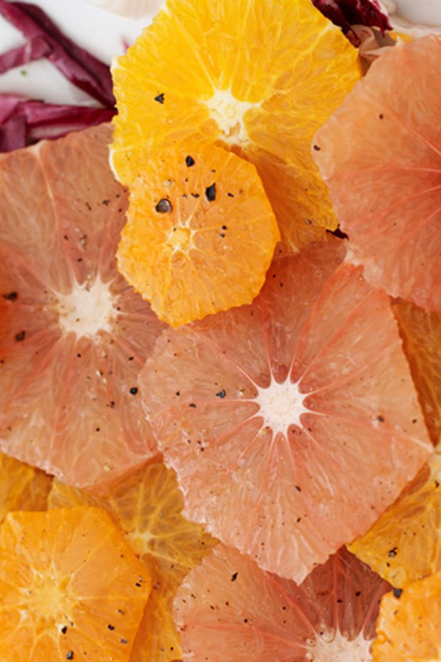 Winter Citrus Salad Wide