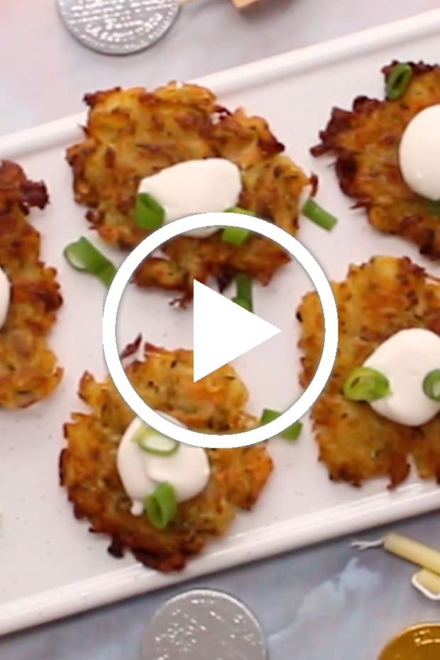 Vegan Latkes video