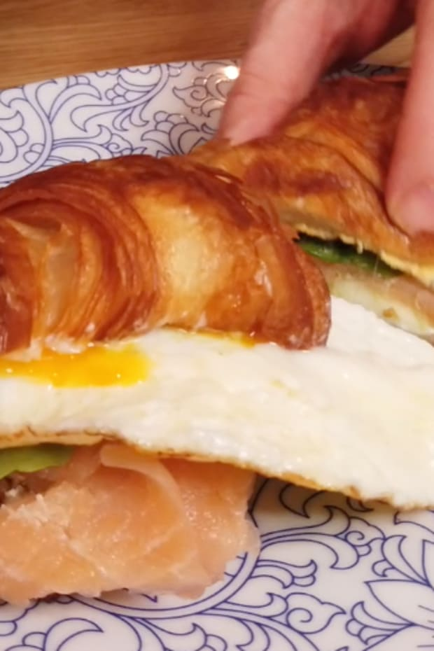 Croissant, Lox and Cream Cheese cover