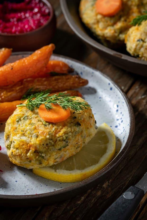 vegan gefilte fish