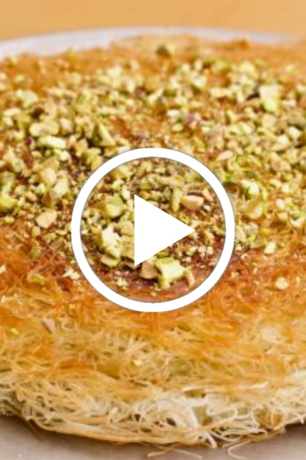 Spiced Meat Kanafeh Video