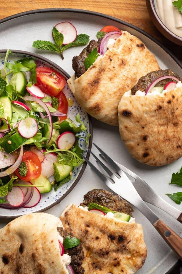 Israeli Mini Burgers