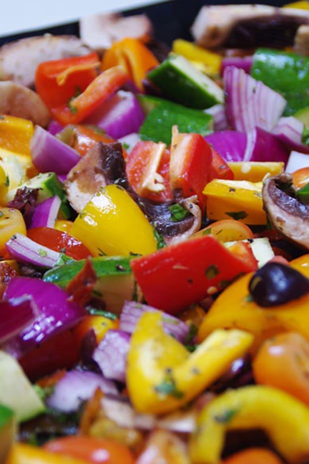 Italian Style Roasted Veggies