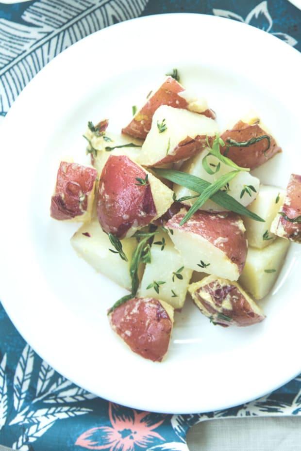 Lemon Tarragon Potato Salad