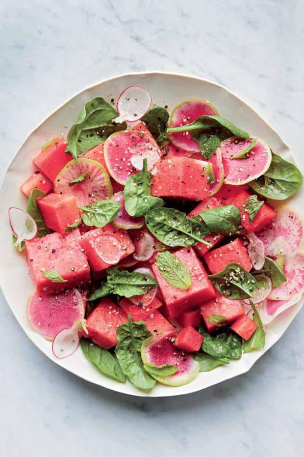 SpinachWatermelon&WatermelonRadishSaladPg144